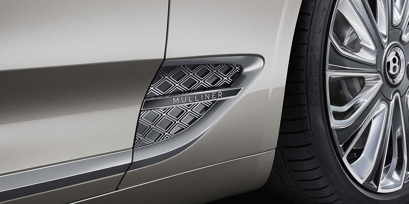 Bentley-Continental-GT-V8-Mulliner-side-detail-with-chrome-Mulliner-vent-and-exclusive-wheel